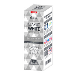 Зубная паста для отбеливания и удаления зубного камня  с микрогранулами Mukunghwa Classic White