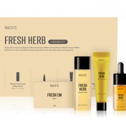 Набор миниатюр на основе органических экстрактов для проблемной и чувствительной кожи NACIFIC Fresh Herb Original Kit