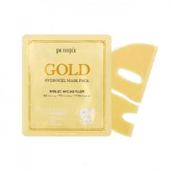 Гидрогелевая маска для лица с микрочастицами коллоидного золота Petitfee Gold Hydrogel Mask Pack