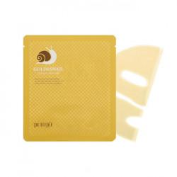 Гидрогелевая маска для лица с золотом и экстрактом слизи улитки Petitfee Gold & Snail Hydrogel Mask Pack