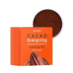 Гидрогелевые патчи с экстрактом какао для повышения упругости и улучшения тонуса кожи вокруг глаз PetitfeeCacao Energizing Hydrogel Eye Mask