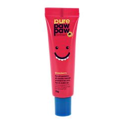 "Восстанавливающий бальзам с ароматом ""Клубничный смузи"" Pure Paw Paw Ointment Strawberry 15 мл"