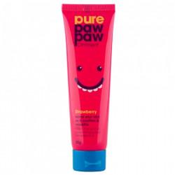 "Восстанавливающий бальзам с ароматом ""Клубничный смузи"" Pure Paw Paw Ointment Strawberry 25 мл"