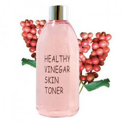 Слабокислотный тонер с лимонником для сияния кожи Realskin Healthy Vinegar Skin Toner Omija