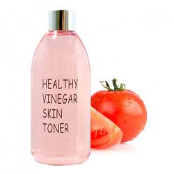 Успокаивающий тонер с экстрактом томата для жирной и комбинированной кожи Realskin Healthy Vinegar Skin Toner Tomato