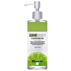 Гидрофильное масло для снятия макияжа с экстрактом лайма Secret Skin Lime Fizzy Cleansing Oil