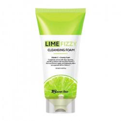 Пенка для умывания лица с экстрактом лайма Secret Skin Lime Fizzy Cleansing Foam