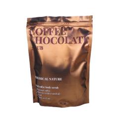 Кофейный скраб для тела с маслом какао и ароматом шоколада Skinomical Natural Coffee Chocolate Scrub