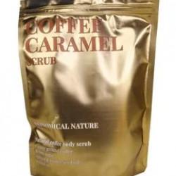 Кофейный скраб для тела с тростниковым сахаром и ароматом карамели Skinomical Nature Coffee Caramel Scrub