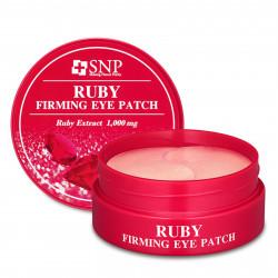 Гидрогелевые патчи для области вокруг глаз с экстрактом пудры рубина SNP Ruby Firming Eye Patch
