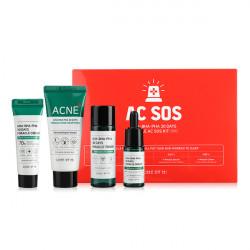 Набор кислотных средств для проблемной кожи Some By Mi AHA-BHA-PHA 30 Days Miracle AC SOS Kit