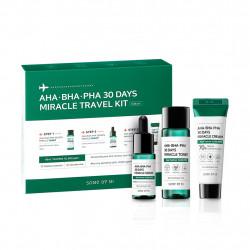 Набор для проблемной кожи с кислотами Some By Mi AHA-BHA-PHA 30 Days Miracle Travel Kit