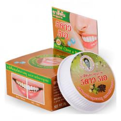 Травяная отбеливающая зубная паста с экстрактом нони 5 Star Cosmetic Herbal Clove Noni Toothpaste