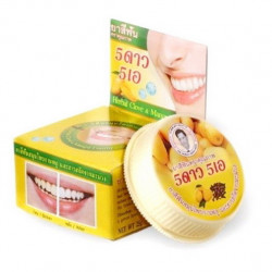 Травяная отбеливающая зубная паста с экстрактом манго 5 Star Cosmetic Herbal Clove Toothpaste Mango