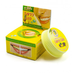 Травяная отбеливающая зубная паста с экстрактом ананаса Herbal Clove Toothpaste Pineapple 5 Star Cosmetic