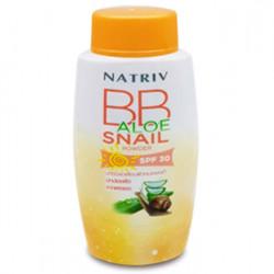 Улиточная BB-пудра с алоэ вера SPF30 Natriv BB Aloe Snail Powder
