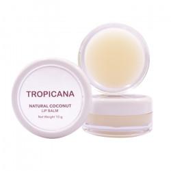 Бальзам для губ на основе кокосового масла «Кокосовое Наслаждение» Tropicana Lip Balm Natural Coconut Delight