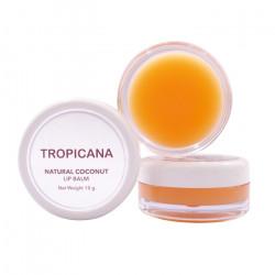Бальзам для губ на основе кокосового масла «Манго» Tropicana Lip Balm Natural Coconut Mango Spirit