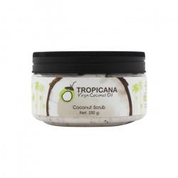 Скраб для тела на основе кокосового масла холодного отжима Tropicana Coconut Body Scrub