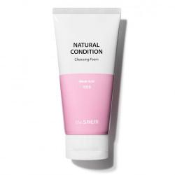 Пенка для умывания для чувствительной кожи The Saem Natural Condition Cleansing Foam Weak Acid