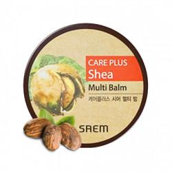 Универсальный увлажняющий бальзам для лица и тела с маслом ши The Saem Care Plus Shea Multi Balm