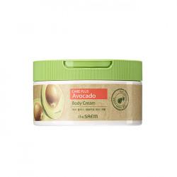 Крем для интенсивного питания кожи тела с экстрактом авокадо The Saem Care Plus Avocado Body Cream