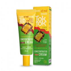 Концентрированный крем с лёгкой текстурой для увлажнения и питания кожи век TokTok Concentrated Eye Cream