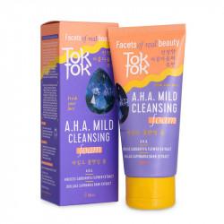 Мягкая очищающая пенка для удаления загрязнений и макияжа с кожи лица TokTok Mild Cleansing Foam