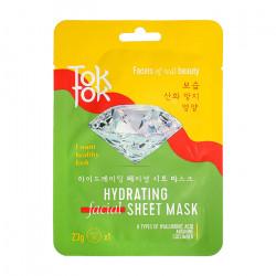 Увлажняющая тканевая маска для лица с гиалуроновой кислотой TokTok Hydrating Facial Sheet Mask