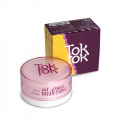 Питательный крем для кожи лица против морщин с пептидным комплексом TokTok Anti-Wrinkle Nourishing Face Cream