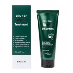 Безсульфатный восстанавливающий бальзам для волос Trimay Silky Hair Repair Treatment