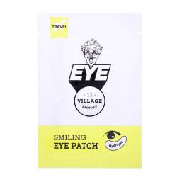 Увлажняющие осветляющие патчи для глаз с ледниковой водой Village 11 Factory Smiling Eye Patch