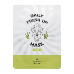 Увлажняющая тканевая маска для лица с экстрактом алоэ Village 11 Factory Daily Fresh Up Mask Aloe